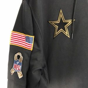 new concept 71d0e 335ee Dallas Cowboys NWOT Salute To Service Hoodie 2016